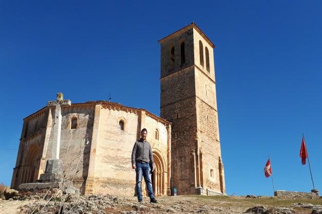 A delightful Spanish Road Trip through the Castiles - Segovia - Church of the True Cross