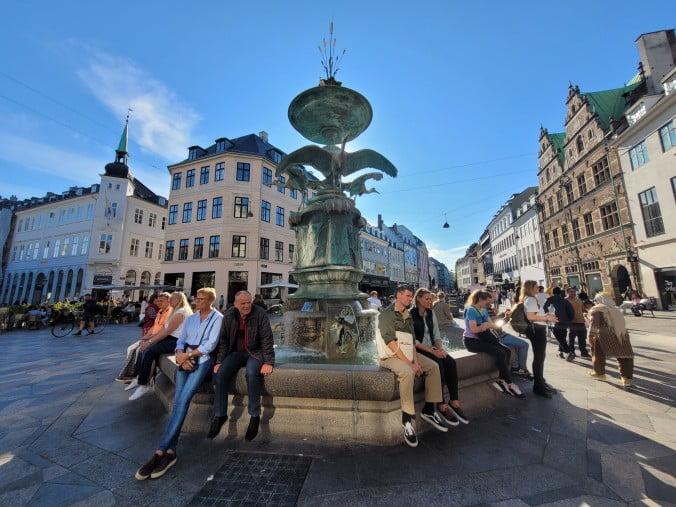 Two enchanting days in Copenhagen - The Stork Fountain