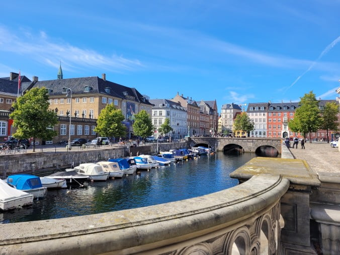 Copenhagen - View from Christiansborg Palace