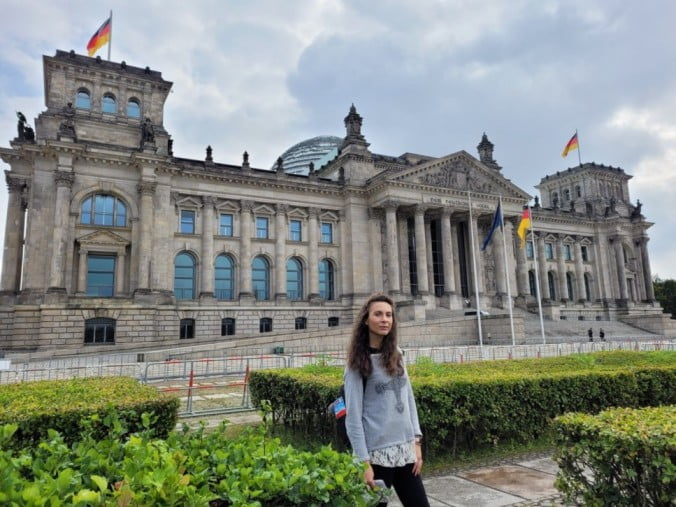 Two outstanding days in Berlin - Reichstag