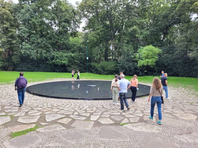 Berlin - Memorial to the Roma and Sinti of Europe murdered under National Socialism