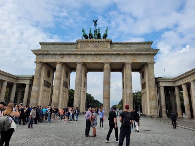 Two outstanding days in Berlin - Brandenburg Gate