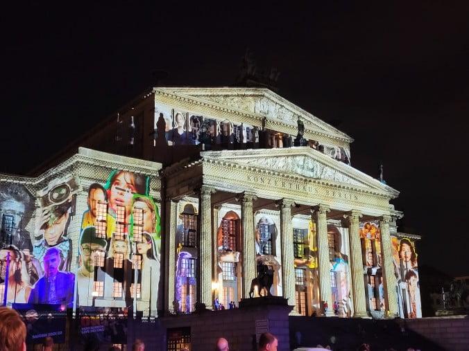 Two outstanding days in Berlin - Festival of Lights in Gendarmenmarkt