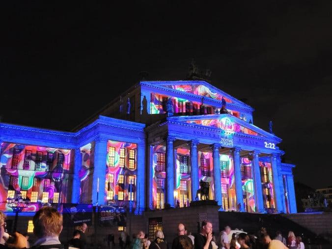 Berlin - Festival of Lights in Gendarmenmarkt
