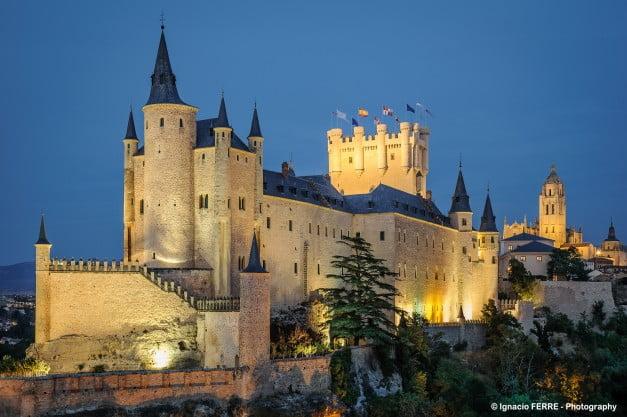 Segovia - Alcázar by Ignacio Ferre Pérez