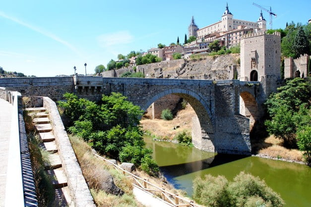 A delightful Spanish Road Trip through the Castiles - Bridge of Alcantara by Nikthestoned