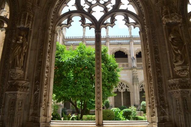 Toledo - Cloister of the Monastery of St John of the Kings by Enric Martinez i Vallmitjana