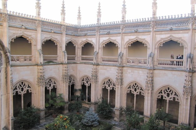Toledo - Cloister of the Monastery of St John of the Kings by Palickap