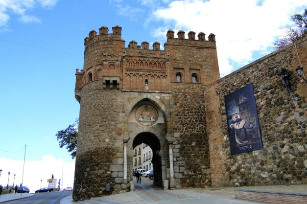 A delightful Spanish Road Trip through the Castiles - Toledo - Gate of the Sun by santiago lopez-pastor