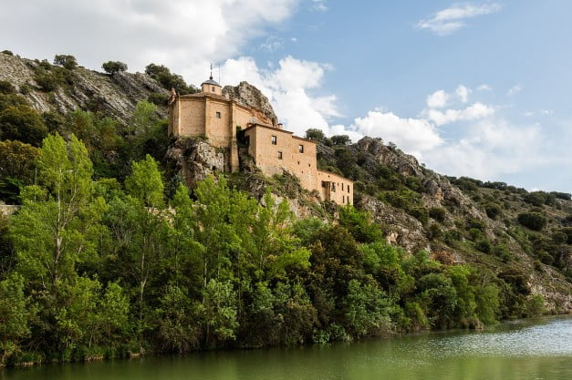 A delightful Spanish Road Trip through the Castiles - Soria - Hermitage of St Saturio by Diego Delso