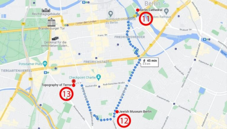 Two outstanding days in Berlin - Map Day 2
