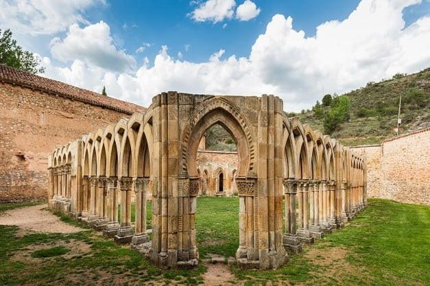 Soria - Monastery of St John of the Duero by Diego Delso