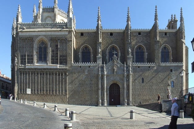 A delightful Spanish Road Trip through the Castiles - Toledo - Monastery of St John of the Kings by Querubin Saldaña Sanchez