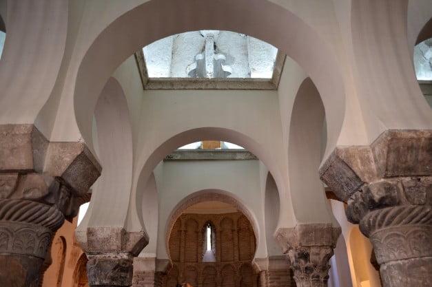Toledo - Mosque of Christ of Light by Enric Martinez i Vallmitjana