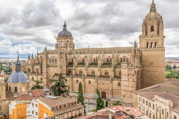 A delightful Spanish Road Trip through the Castiles - Salamanca - New Cathedral by Julián Rejas De Castro