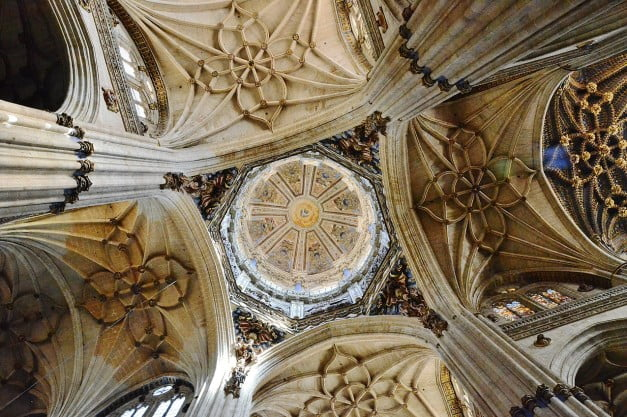 A delightful Spanish Road Trip through the Castiles - Salamanca - New Cathedral by MARIA ROSA FERRE