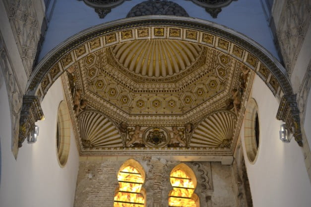 Toledo - Synagogue of St Mary the White by Enric Martinez i Vallmitjana
