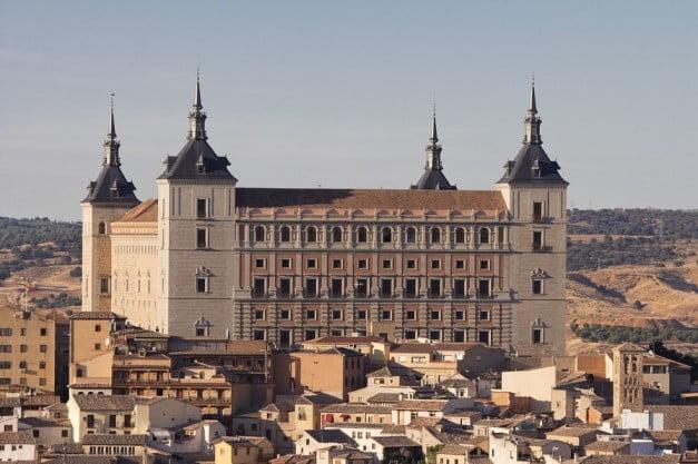A delightful Spanish Road Trip through the Castiles - Toledo Alcázar by Carlos Delgado
