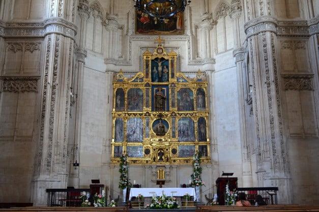 A delightful Spanish Road Trip through the Castiles - Toledo - Church if the Monastery of St John of the Kings by Enric Martinez i Vallmitjana