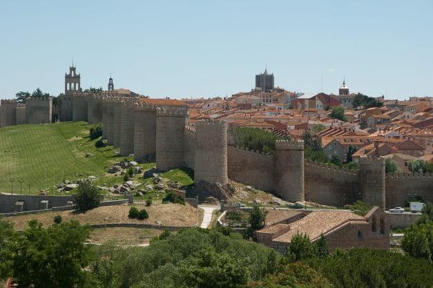 A delightful Spanish Road Trip through the Castiles - Ávila - City Walls