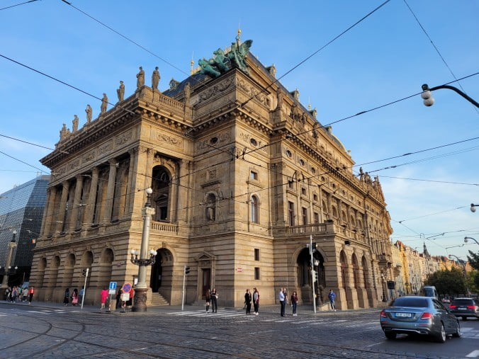 Prague in 3 marvellous days - National Theatre