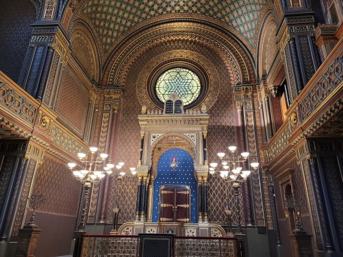 Prague in 3 marvellous days - The Spanish Synagogue