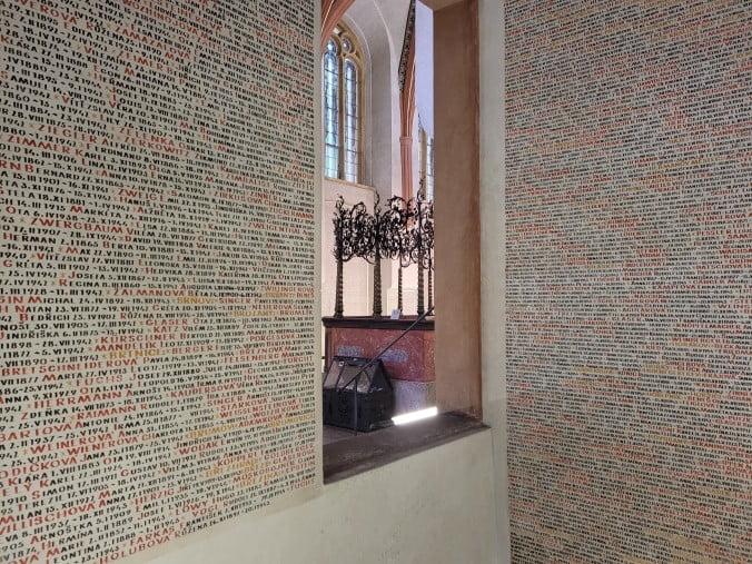 Prague - Pinkas Synagogue